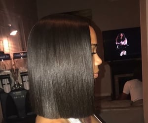 bob cut, hair, and hairstyle image