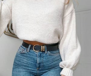 beauty, belt, and clothes image
