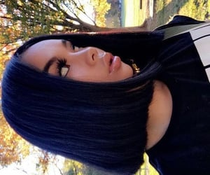 hair, hairstyles, and blunt bob cut image