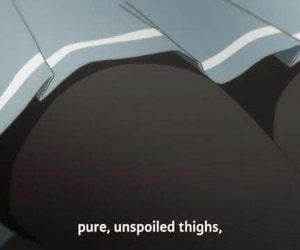 anime, hentai, and thigh highs image
