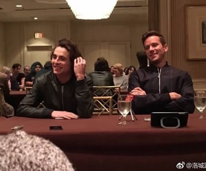 armie hammer and timothee chalamet image
