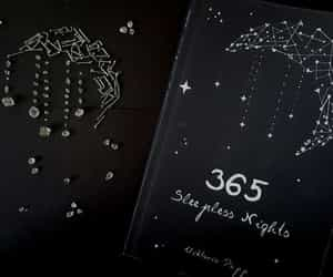 black, quotes, and book image