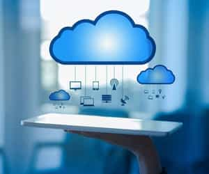 cloud computing, managed it services, and cloud solutions image