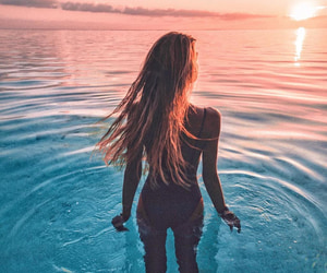inspiration and sunset image