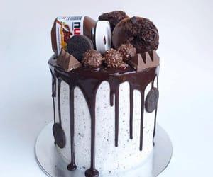 cake, chocolat, and food image