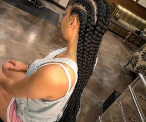 braids, cornrows, and hair image