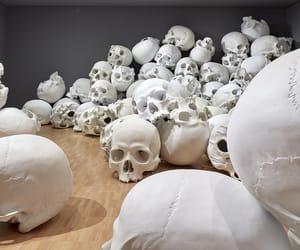 art, bones, and bonheur image