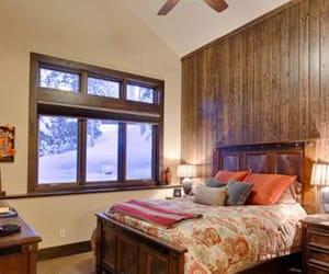 bedroom, winter, and utah image