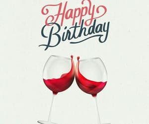 happy birthday, vino, and copas image