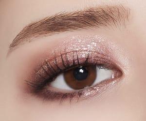 cosmetics, eyebrow, and eyes image