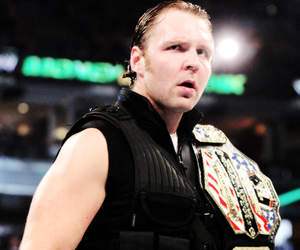 wrestling, dean ambrose, and wwe image
