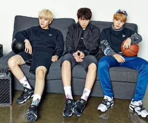 puma, jungkook, and namjoon image