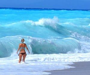 sea, vacation, and Greece image