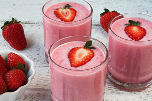 strawberry, fruit, and smoothie image