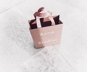 bag, pink, and shopping image