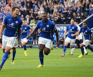 leicester vs swansea city image