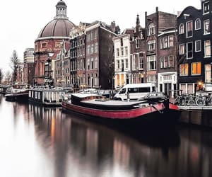 amsterdam, city, and elegance image