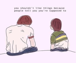 stranger things, quotes, and netflix image