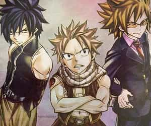 Leo, anime boy, and gray fullbuster image