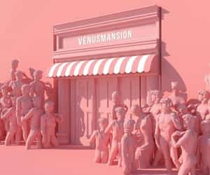 architecture, pink, and cool image