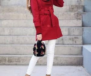 red coat hijab image
