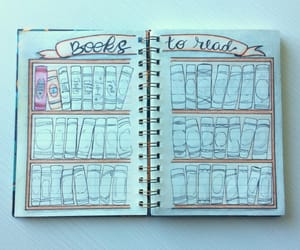books, bookworm, and draw image