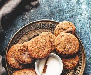 dessert, food, and cockie image