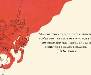 quotes, j.d. salinger, and book image