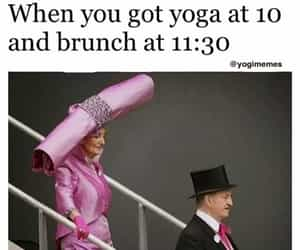 lady, lol, and yoga image