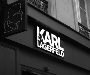 karl lagerfeld, fashion, and black image
