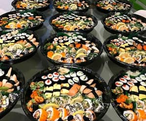 sushi, tasty, and yammy image
