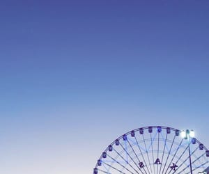 pretty, sunset, and wheel image