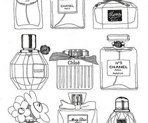 perfume, chanel, and Prada image