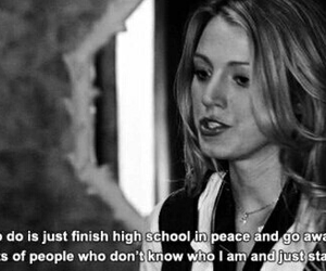 gossip girl, blake lively, and high school image