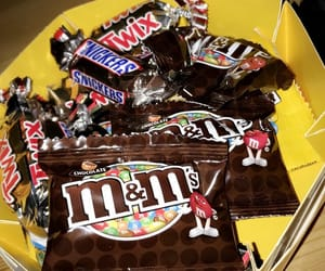 food, m&m, and m&ms image
