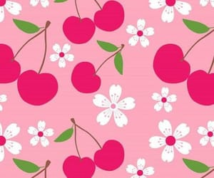 cherry and wallpaper image