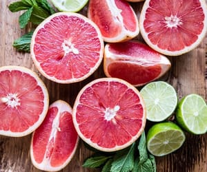 fresh, fruit, and grapefruit image