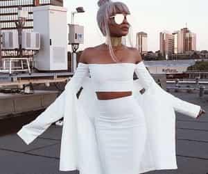 white, style, and luxury image