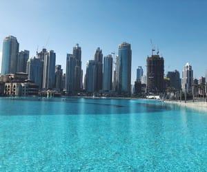 Dubai, travel, and summer image
