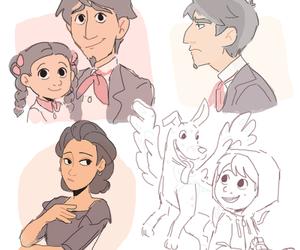 animation, cartoon, and child image
