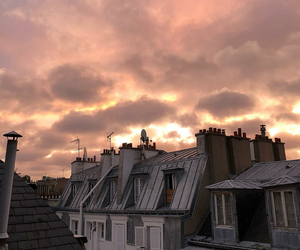 beauty, paris, and sunrise image