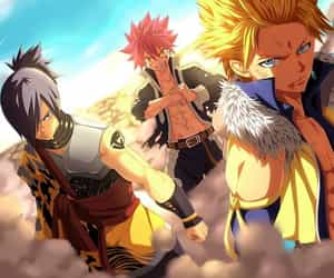 fairy tail, natsu dragneel, and sting eucliffe image