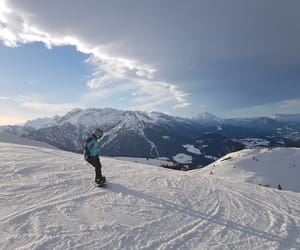 austria, paradise, and ski image