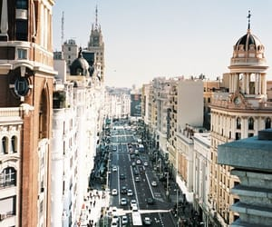 city, travel, and street image