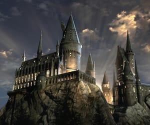 hogwarts and harry potter image