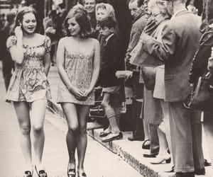girls, vintage, and 1965 image