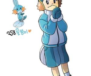 pokemon, mudkip, and gijinka image