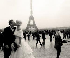 paris, love, and wedding image