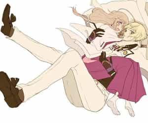 anime, handsome, and anime girl image