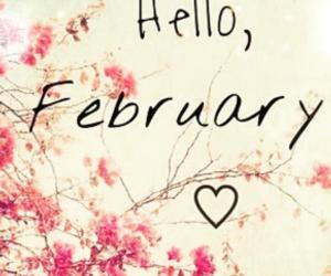 february, mes, and fevereiro image